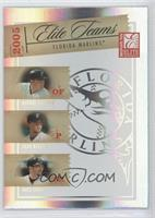 Miguel Cabrera, Josh Beckett, Mike Lowell /1500