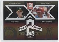 Tim Hudson, Garret Anderson /500