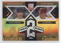 Jim Edmonds, Randy Johnson /150