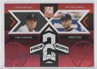 Curt Schilling, Derek Jeter /750