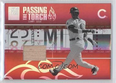 2005 Donruss Elite Passing the Torch Bats #PT-26 - Sammy Sosa /250