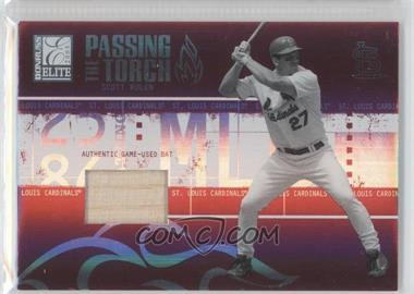 2005 Donruss Elite Passing the Torch Bats #PT-27 - Scott Rolen /250