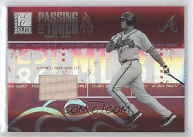 2005 Donruss Elite Passing the Torch Bats #PT-4 - Andruw Jones /250