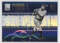 Babe Ruth, Alex Rodriguez /500
