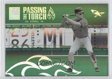 2005 Donruss Elite Passing the Torch Green #PT-34 - [Missing] /125