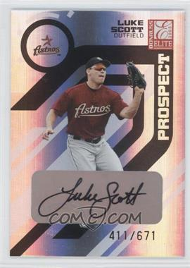 2005 Donruss Elite #194 - Luke Scott /671
