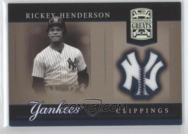 2005 Donruss Greats [???] #YC-22 - Rickey Henderson