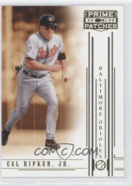 2005 Donruss Prime Patches [???] #87 - Cal Ripken Jr.