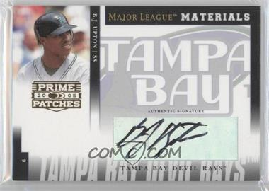2005 Donruss Prime Patches Major League Materials Signature [Autographed] #MLM-22 - B.J. Upton