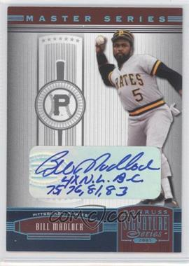 2005 Donruss Signature Series - [???] #108 - Bill Madlock /10