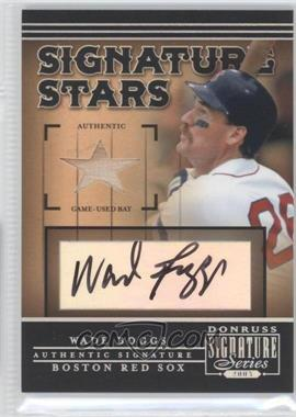 2005 Donruss Signature Series - Signature Stars - Bat [Memorabilia] #SS-13 - Wade Boggs