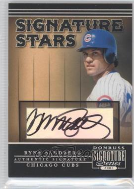 2005 Donruss Signature Series - Signature Stars #SS-10 - Ryne Sandberg