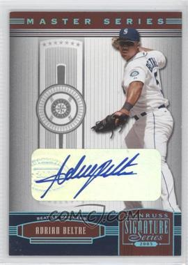 2005 Donruss Signature Series [???] #126 - Adrian Beltre /14