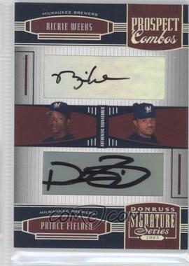 2005 Donruss Signature Series [???] #151 - Rickie Weeks