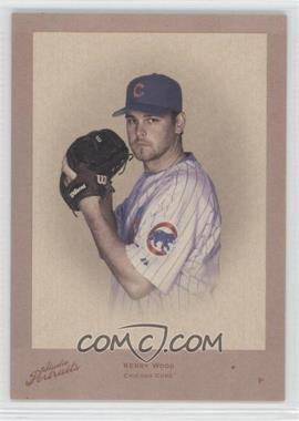 2005 Donruss Studio Portraits Throwback Threads Sepia #SP-34 - Kerry Wood /25