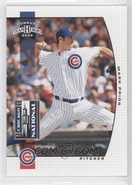 2005 Donruss Team Heroes - [???] #3 - Mark Prior
