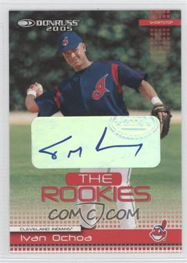 2005 Donruss The Rookies 2004 Autographs #38 - Ivan Ochoa