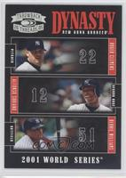 Roger Clemens, Alfonso Soriano, Bernie Williams /100