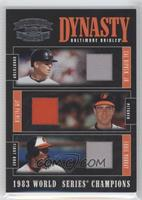 Eddie Murray, Cal Ripken Jr., Jim Palmer /50