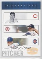 Kerry Wood, Roger Clemens, Bob Feller /100