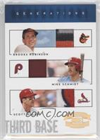 Brooks Robinson, Mike Schmidt, Scott Rolen /10