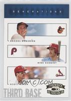 Mike Schmidt, Scott Rolen, Brooks Robinson, Scott Rolen