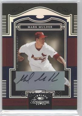 2005 Donruss Timeless Treasures [???] #20 - Mark Mulder /50