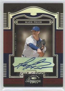2005 Donruss Timeless Treasures [???] #36 - Mark Prior /50