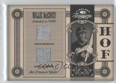 2005 Donruss Timeless Treasures [???] #HOF-18 - Willie McCovey /25