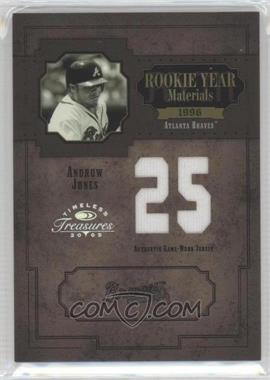 2005 Donruss Timeless Treasures [???] #RYM-33 - Andruw Jones /25