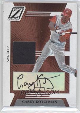 2005 Donruss Zenith - Z-Jerseygraphs - Prime #ZB-57 - Casey Kotchman /25