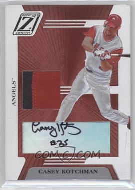 2005 Donruss Zenith Z-Jerseygraphs Prime #ZB-57 - Casey Kotchman /25