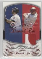 Mike Piazza, Jim Thome (Patch) /50