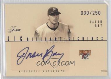 2005 Flair [???] #SS-JB - Jason Bay /250
