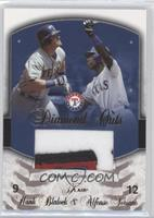 Hank Blalock (Patch), Alfonso Soriano /20
