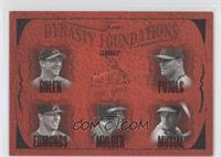 Scott Rolen, Albert Pujols, Jim Edmonds, Mark Mulder, Stan Musial /500
