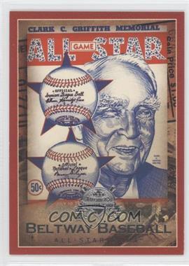 2005 Fleer America's National Pastime [???] #14BB - 1956 All Star Game /202