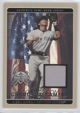 2005 Fleer America's National Pastime [???] #GOG-HM - Hideki Matsui