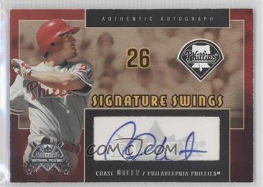 2005 Fleer America's National Pastime Signature Swings #SS-CU - Chase Utley
