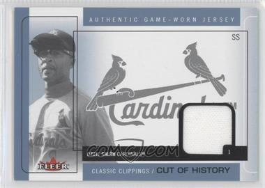 2005 Fleer Classic Clippings [???] #CH-OS - Ozzie Smith
