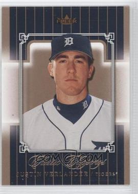 2005 Fleer Classic Clippings #125 - Justin Verlander