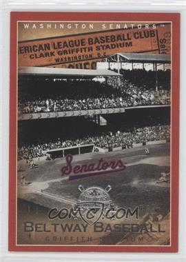 2005 Fleer National Pastime - Beltway Baseball #12 BB - Griffith Stadium /202