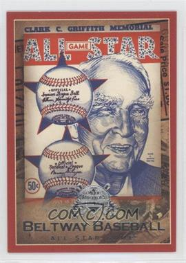 2005 Fleer National Pastime - Beltway Baseball #14 BB - 1956 All Star Game /202