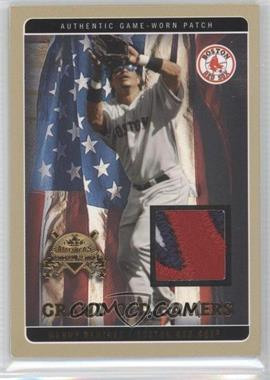 2005 Fleer National Pastime - Grand Old Gamers Dual - Gold Patch [Memorabilia] #NoN - Manny Ramirez, Curt Schilling /24