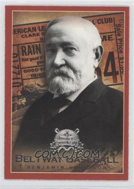 2005 Fleer National Pastime Beltway Baseball #2 BB - Benjamin Harrison /202