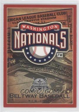 2005 Fleer National Pastime Beltway Baseball #20 BB - Washington Nationals Team /202