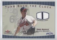 Greg Maddux (Turn Back the Clock) #9/12