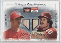 Scott Rolen, Mike Schmidt (Classic Combinations) /7