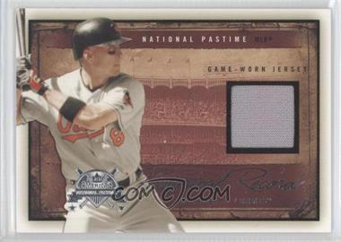 2005 Fleer National Pastime Historical Record Jersey [Memorabilia] #HR-CR - Cal Ripken Jr. /31