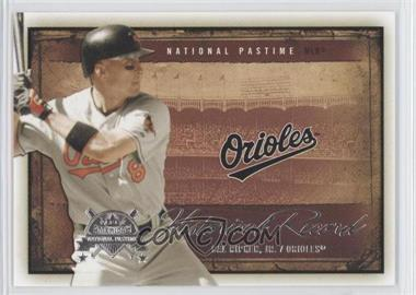 2005 Fleer National Pastime Historical Record #10 HR - Cal Ripken Jr. /1996